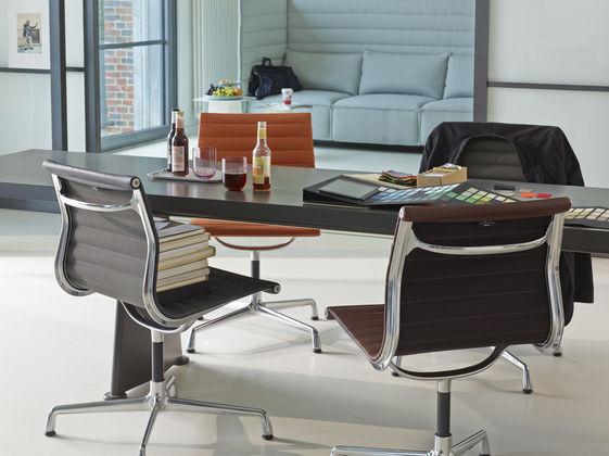 Aluminium Chair EA 101 Trapèze